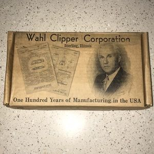Never used! WAHL Stainless Steel grooming kit